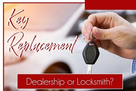 Key Replacement: Dealership or Locksmith?